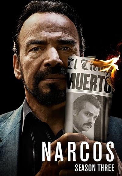 Narcos ฝ่าปฏิบัติการทลายยาเสพติด Season 3 ซับไทย ตอนที่ 1-10